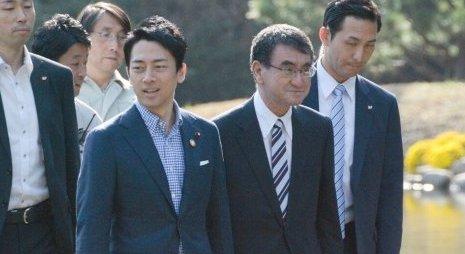小泉進次郎 河野太郎 自民党 総裁選 立候補に関連した画像-01