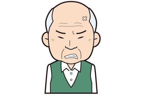 キレる高齢者に関連した画像-01