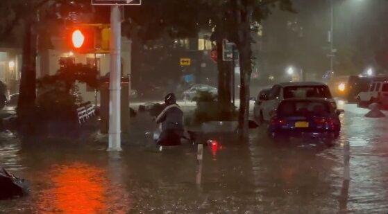 アメリカ ニューヨーク ハリケーン 洪水 記録的に関連した画像-01