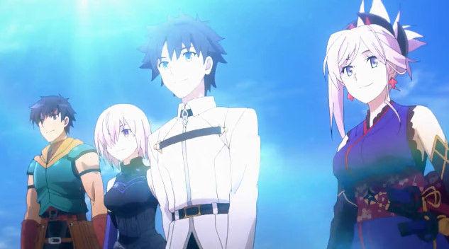 FGO TVCM A1 オリジナルアニメ Fate グランドオーダー 1400万ダウンロード記念に関連した画像-02