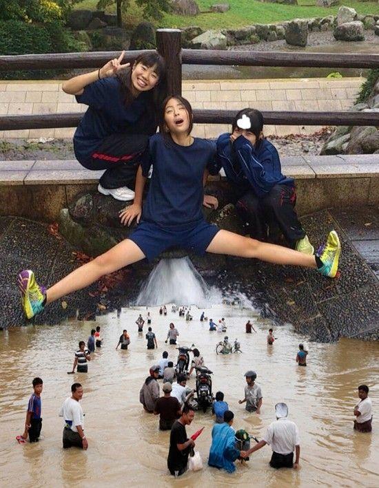 コラ 女子高生 鬼畜 外国人に関連した画像-05