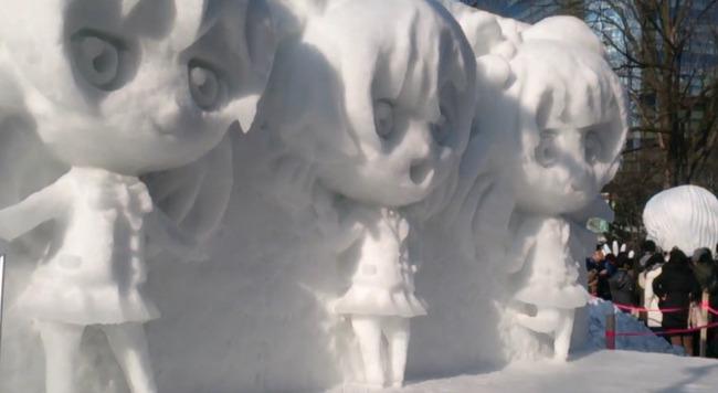 ラブライブ! 雪像 さっぽろ雪まつりに関連した画像-09