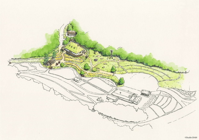 ジブリパーク 愛知 開業 ハウルの城 タタラ場に関連した画像-08