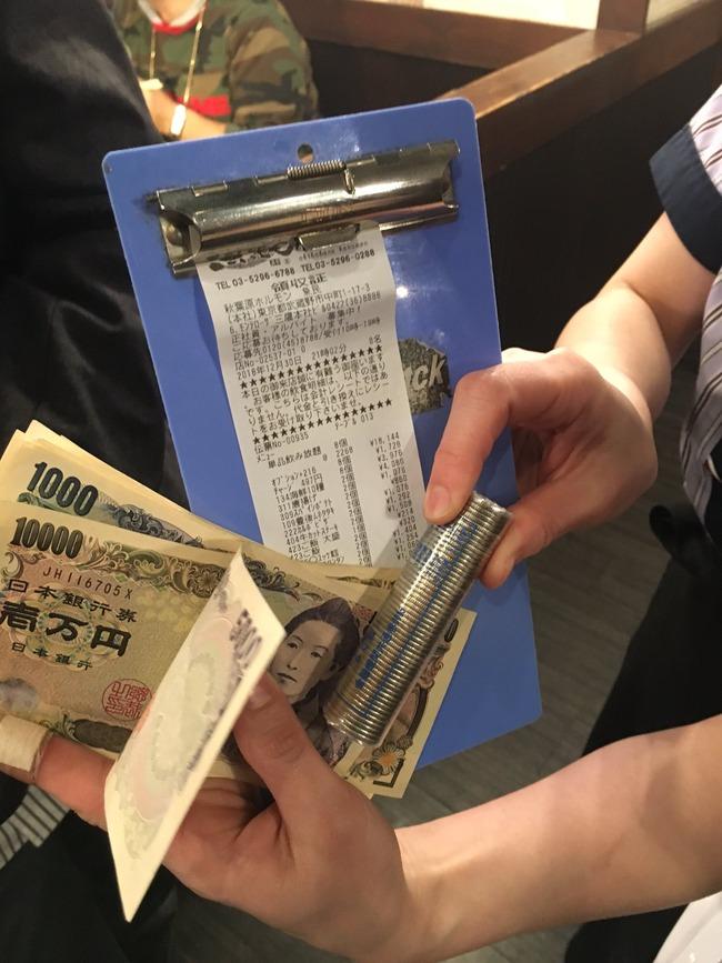 支払い 店員 飲み会 棒金 コミケ オタクに関連した画像-02