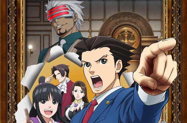 逆転裁判 TVアニメ ゴドー検事 平田広明に関連した画像-01