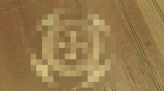 小麦畑ミステリーサークル発見に関連した画像-01