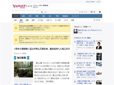 日本 自殺名所 青木ヶ原樹海 観光名所 ブレイク 自殺に関連した画像-02