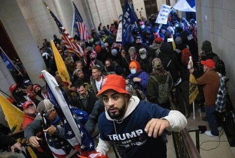 トランプ ワシントン アメリカ 大統領選 混乱 反乱 デモ バイデンに関連した画像-01
