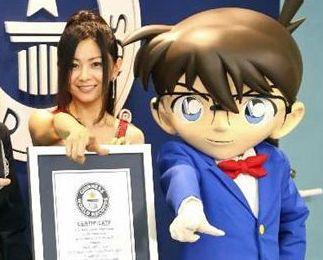 【すげえ】歌手・倉木麻衣さん、『名探偵コナン』の主題歌21楽曲を担当してギネス認定!