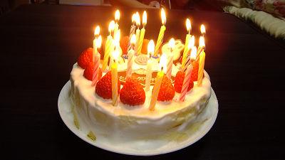 おばあちゃん 誕生日 ロウソクに関連した画像-01