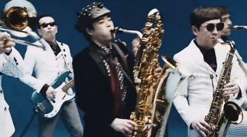 さかなクン 東京スカパラダイスオーケストラ スカパラ コラボ キリン CM 氷結 動画 楽器 サックスに関連した画像-01