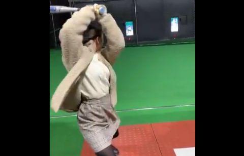 バッティングセンター バッセン 野球 未経験 彼女 アドバイス センスに関連した画像-01