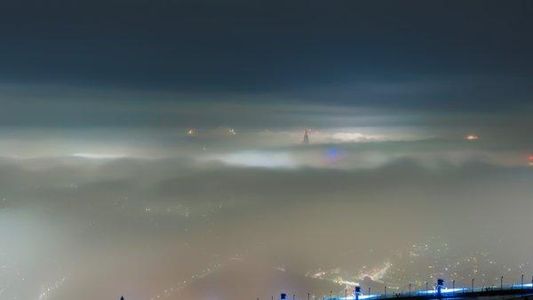 神秘的 濃霧 東京 首都圏 RPG ラストダンジョン ホラー 夜景に関連した画像-03