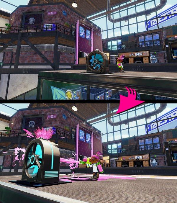 スプラトゥーン ステージ アップデート アンチョビットゲームズに関連した画像-07