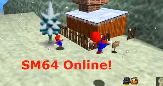 名作『スーパーマリオ64』 オンラインマルチプレイが可能にwwwwwww