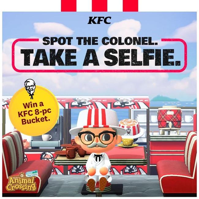 ケンタッキー KFC どうぶつの森に関連した画像-03