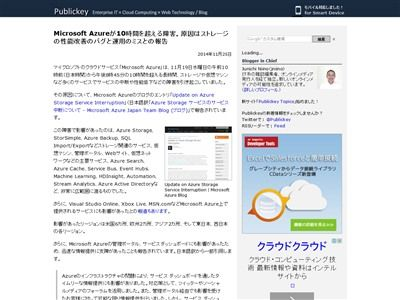 Microsoft Azureの障害に関連した画像-02