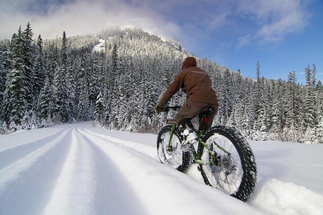 雪道 自転車に関連した画像-01