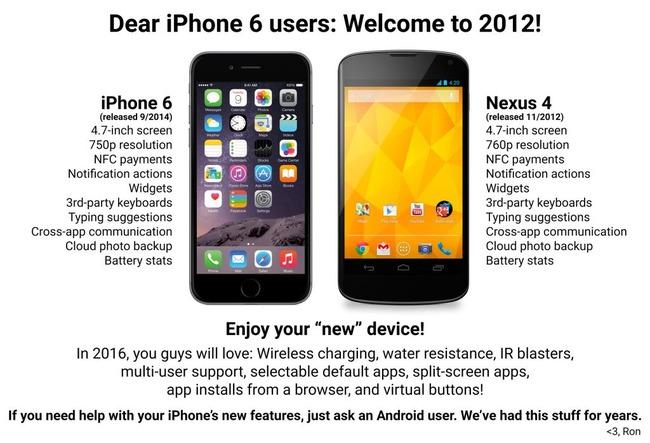 iPhone6 比較 皮肉に関連した画像-03