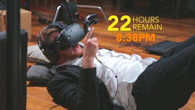 VR生活 連続 ヴァーチャルリアリティ 25時間 ギネス世界記録 VRに関連した画像-05