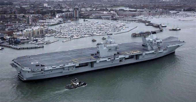 イギリス 英国 クイーン・エリザベス 空母打撃群 日本 寄港に関連した画像-01