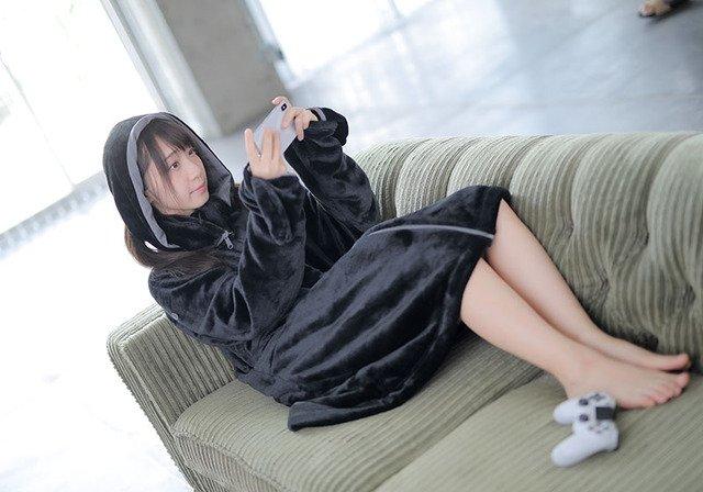 ゲーミング着る毛布 伊織もえに関連した画像-06