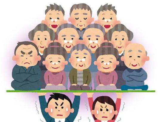 【悲報】働く世代の負担、日本が世界一位を取ってしまう\(^o^)/