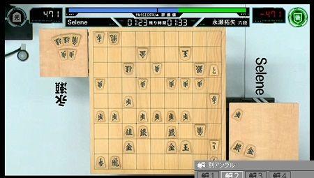 将棋 電王戦 Selene 永瀬拓矢 コンピューター 反則負け 投了 角成らず プログラマーに関連した画像-01