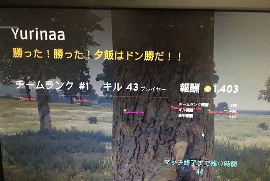 神ゲー『PUBG』、日本プレイヤーがチートで無双し優勝している画像を投稿 「ドン勝余裕」「お前らのPUBGにはこの機能ないの?」