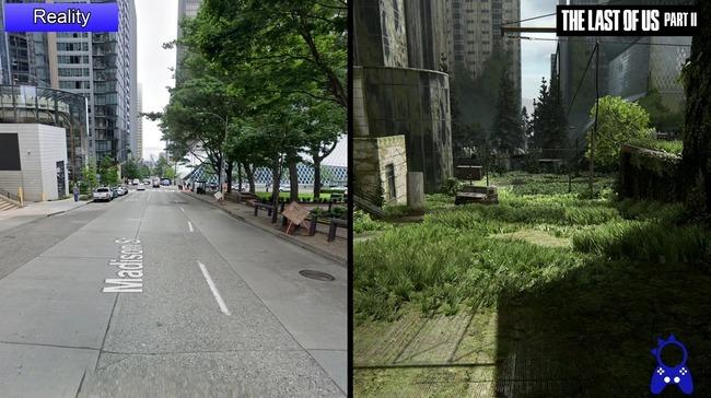 ラストオブアス2 シアトル 比較動画に関連した画像-10