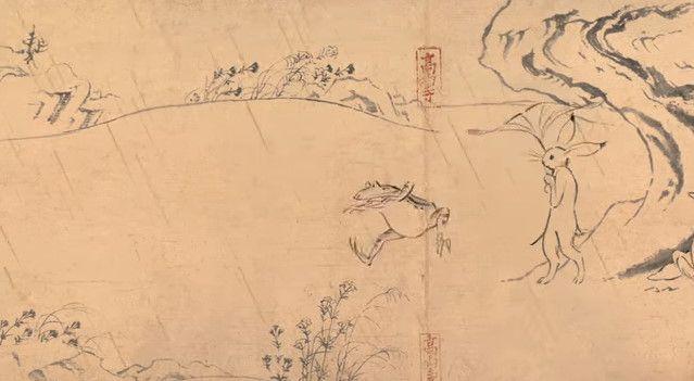 鳥獣戯画 ジブリ アニメ CM 丸紅新電力に関連した画像-08