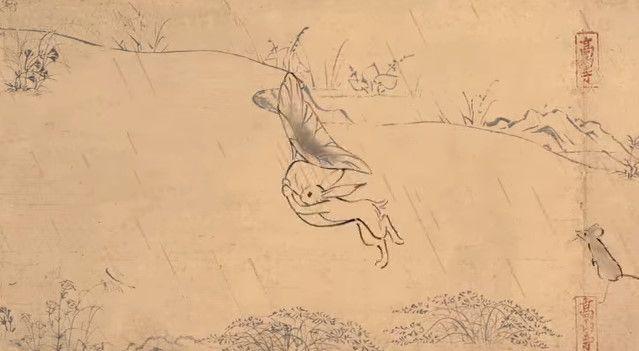 鳥獣戯画 ジブリ アニメ CM 丸紅新電力に関連した画像-11