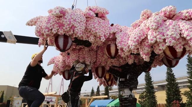 レゴ 桜の木 ギネス認定に関連した画像-01