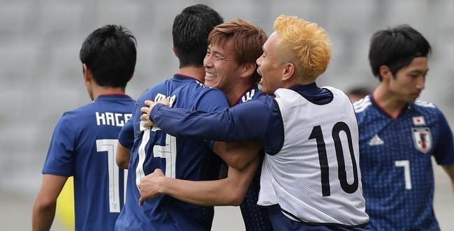 サッカー日本代表 パラグアイ 親善試合に関連した画像-01