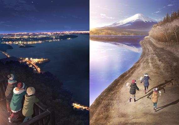 TVアニメ『ゆるキャン△ SEASON2』、2021年1月より放送決定!!2枚のティザービジュアルが公開!