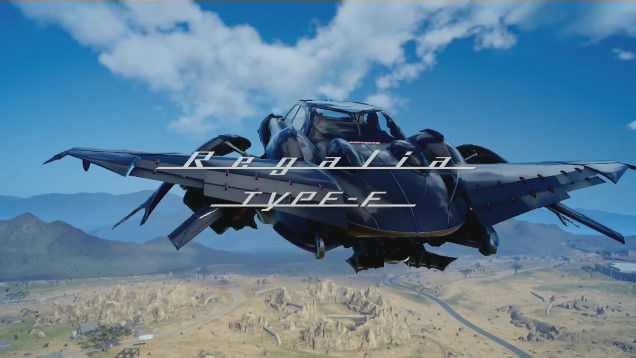 ファイナルファンタジー15 車 変形 飛行に関連した画像-01