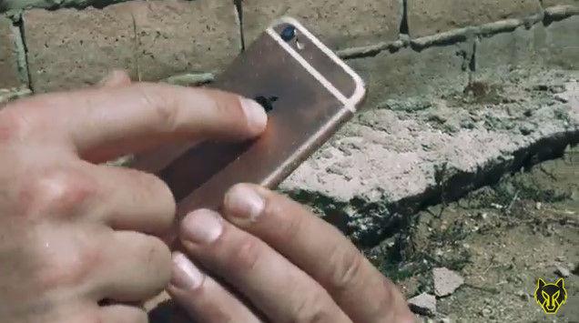iPhone6S 脆弱性 ハンマー 液体窒素 YouTube 動画 ライフル ミキサー 破壊 スマートフォンに関連した画像-08