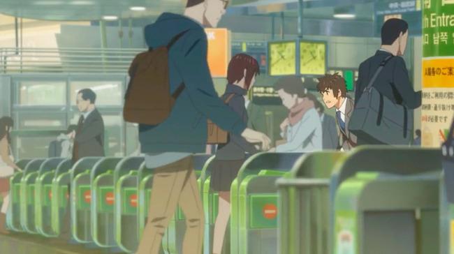 改札 高校生 恋愛に関連した画像-01