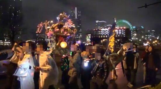 【頭おかしい】新型コロナの自粛反対デモが横浜で勃発!なんで神輿担いでんだよ・・・