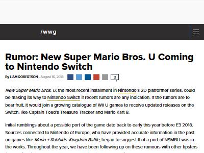 WiiU 良ゲー ニンテンドースイッチ NEWスーパーマリオブラザーズUに関連した画像-02