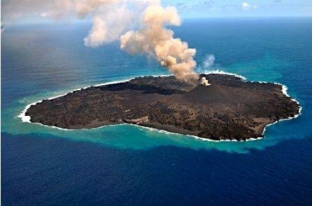 小笠原諸島 西之島 火山島 拡大 東京ドームに関連した画像-01