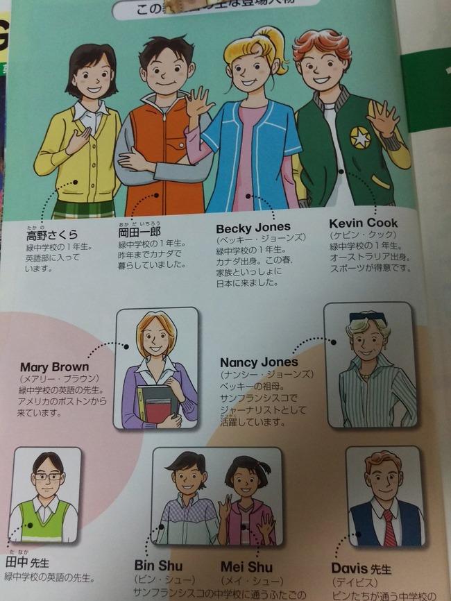 中学校 英語の教科書 かわいい NEW HORIZON 先生 エレン・ベーカーに関連した画像-06