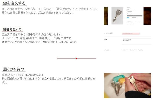 鍵 合鍵 LINE 注文に関連した画像-05