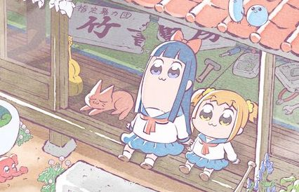 TVアニメ ポプテピピック キービジュアルに関連した画像-01