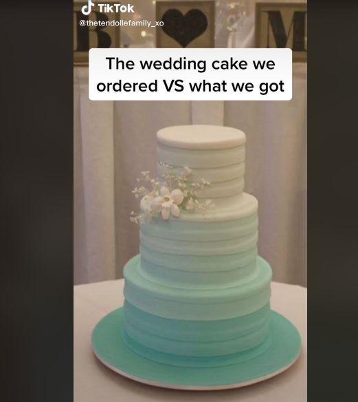 ウェディングケーキ ケーキ TikTokに関連した画像-03