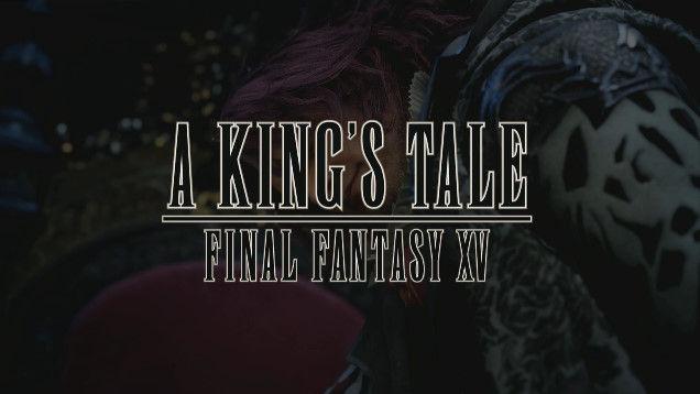 ファイナルファンタジー15 A KING'S TALE 予約特典に関連した画像-01