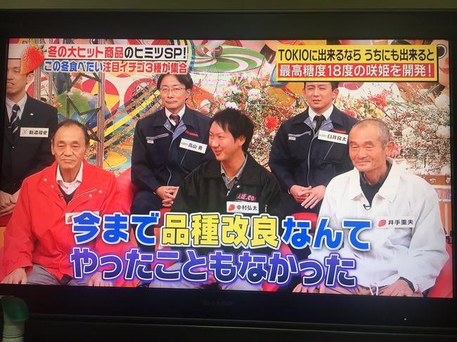 TOKIO イチゴ農家 イチゴ 見よう見まね 品種改良 成功 大ヒット 咲姫に関連した画像-03