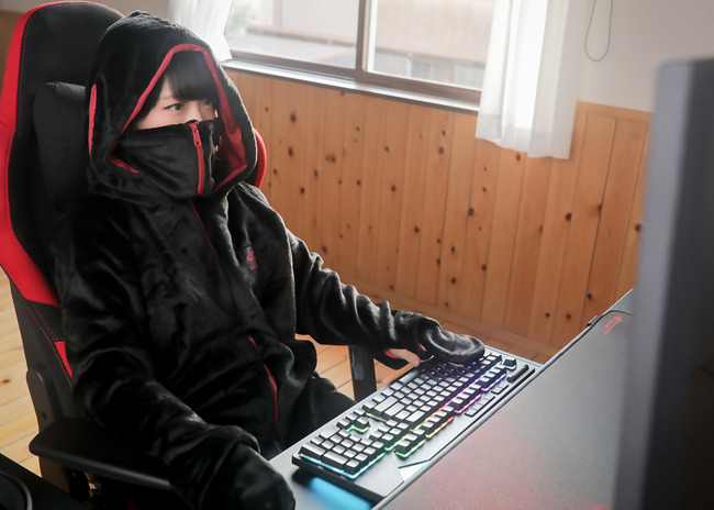 ゲーマー 着る毛布に関連した画像-08
