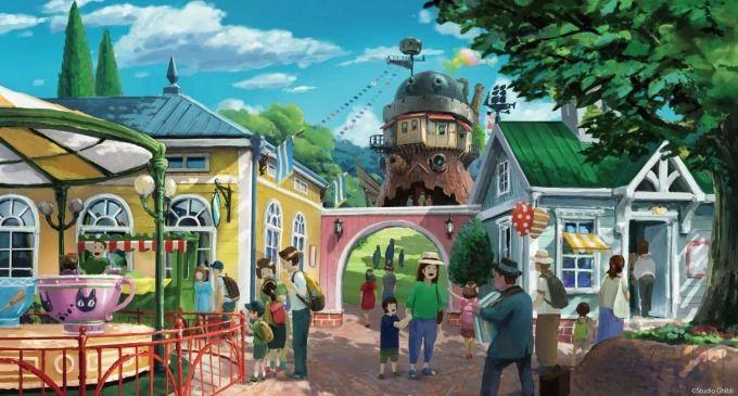 ジブリパーク 愛知 開業 ハウルの城 タタラ場に関連した画像-09