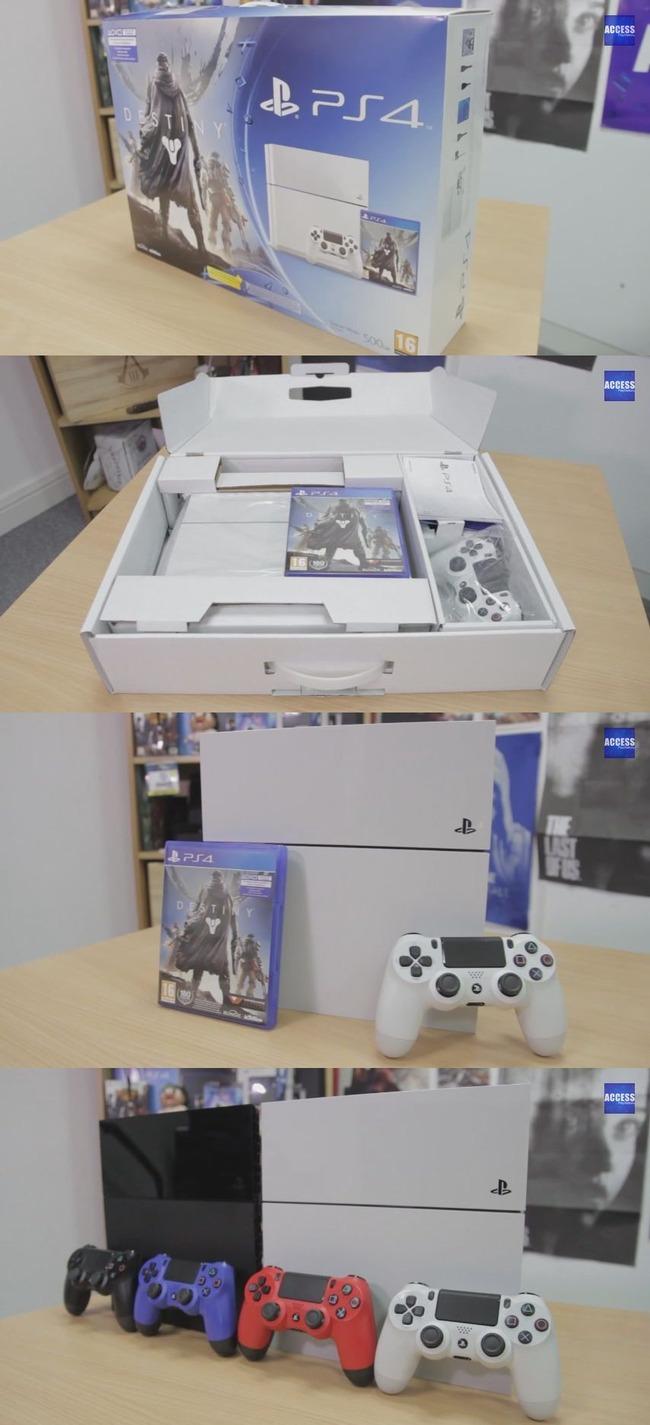 白PS4に関連した画像-03